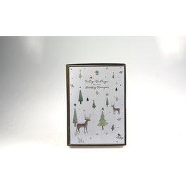 Christmas box - highline watercolour