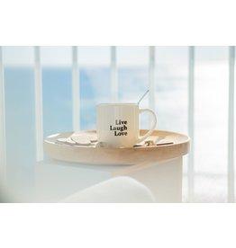 mug - live, laugh, love