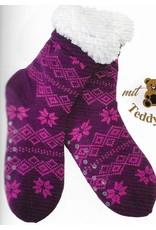 Lietho winter stockings (purple/pink) - 39-42