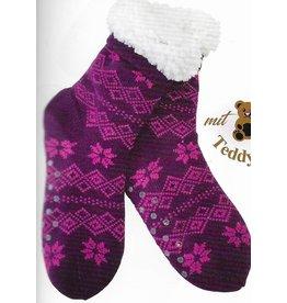 Lietho winter socks - Norway (purple/pink) (39-42)