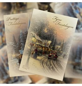 christmas cards - hanging box