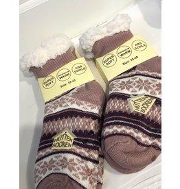 winter socks - Norway (pink/purple/white) (39-42)