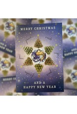 """Christmas cards in box """"Around the world"""""""