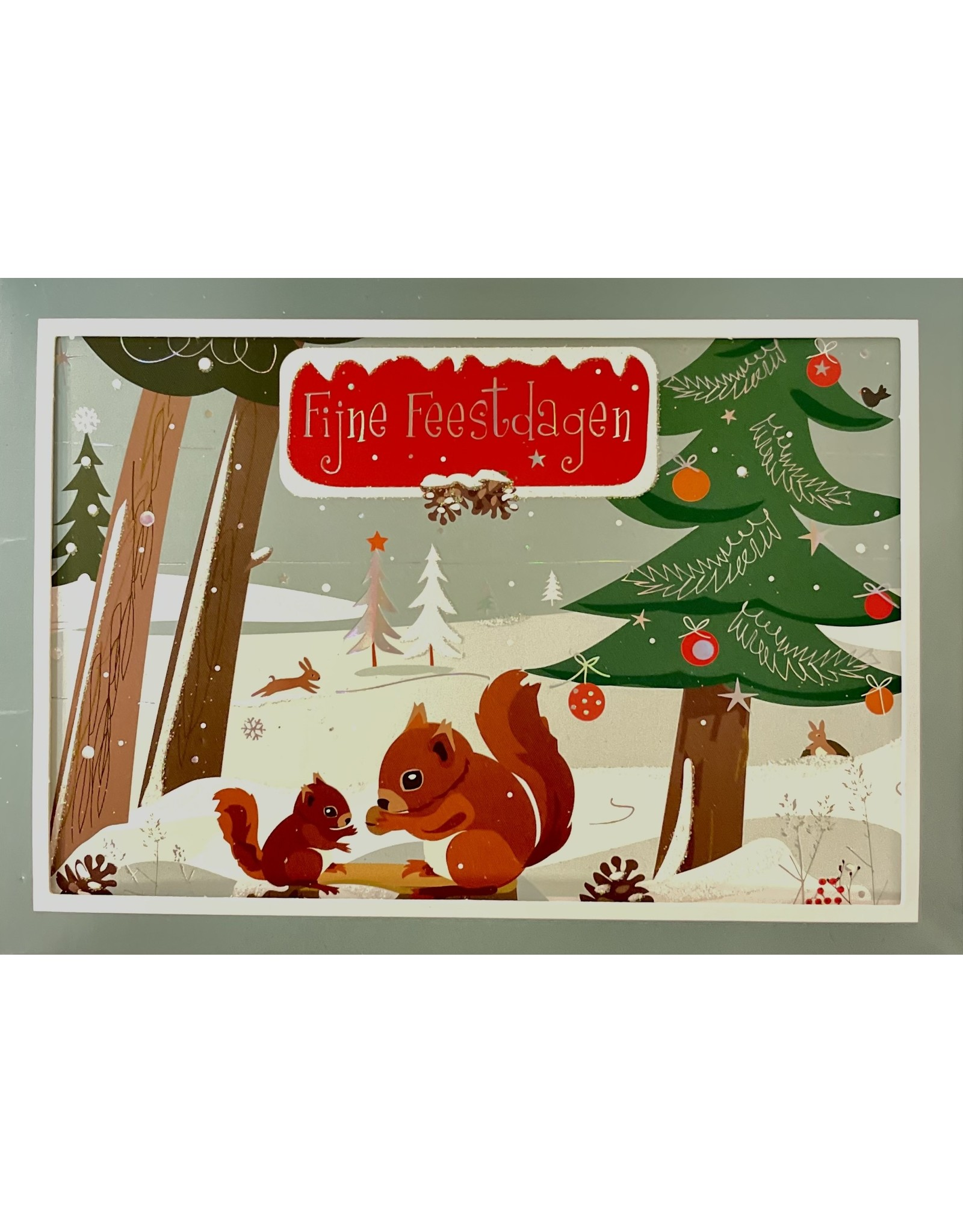 """Christmas cards in box """"Cozy christmas"""""""