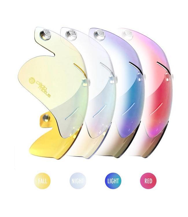 CadoMotus CadoMotus REVO® coated snap on visor