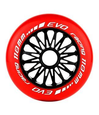 EHSkates Evo G Wiel Rood 8-pack