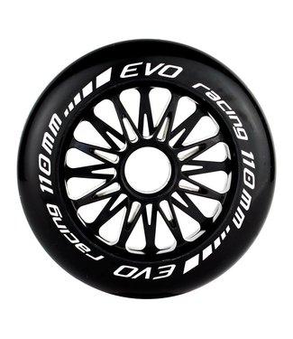 EHSkates Evo G Wiel 110mm Zwart 8-pack