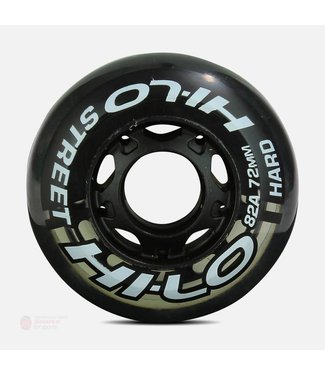 Bauer HI-LO Street Wheels - Per 4 Stuks