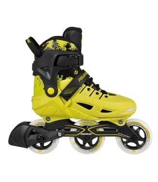 Powerslide Powerslide Phuzion Kids Universe Yellow & White Skate