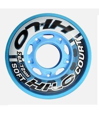 Bauer HI-LO Court Wheels - Per 4 Stuks