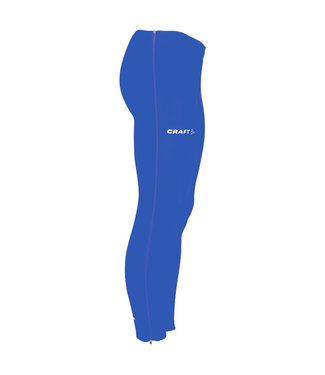 Craft Craft Thermo Tights with Zip Kobalt
