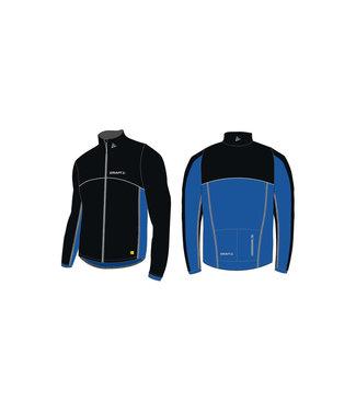 Craft Craft Windstopper Thermo Jacket Black/Cobalt