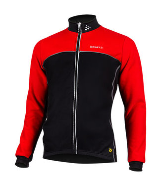 Craft Craft Windstopper Thermo Jacket Black/Red