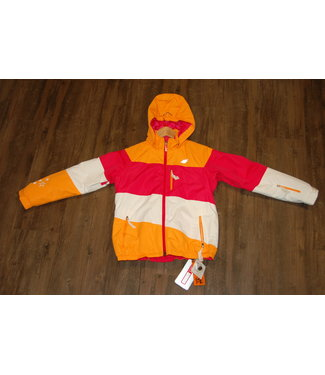 4F 4F Ski Jacket Orange/Pink/White