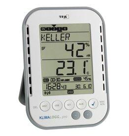 TFA 007 Hygrometer thermometer met logfunctie