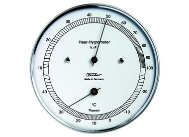 Hygrometers met thermometer