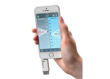 Hygrometers voor smartphones