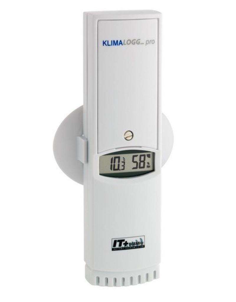 TFA 100  Draadloze, externe thermo/hygro- sensor, voor datalogger TFA 007