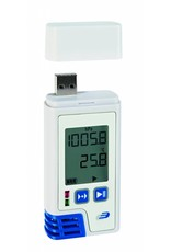 TFA 006 Thermo-hygro-barometer, USBstick, dataopslag, software, Duits  prod.
