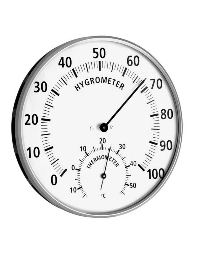 TFA 017 Hygrometer met thermometer, nauwkeurig en snel reagerend