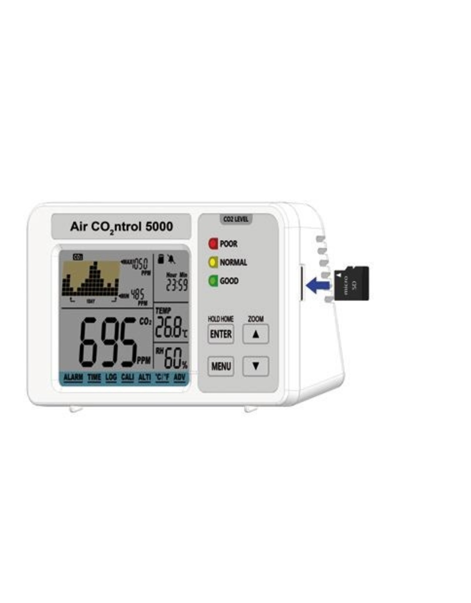 TFA 041 CO2-, thermo- en hygrometer met datalogger