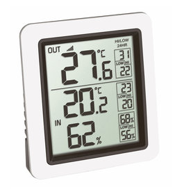 TFA 004 thermo- hygrometer met buitensensor