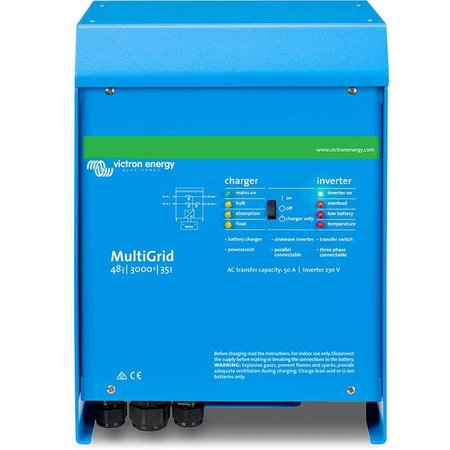 Victron Energy ABVERKAUF: Victron Energy Multi Grid 48/3000/35-50 230V