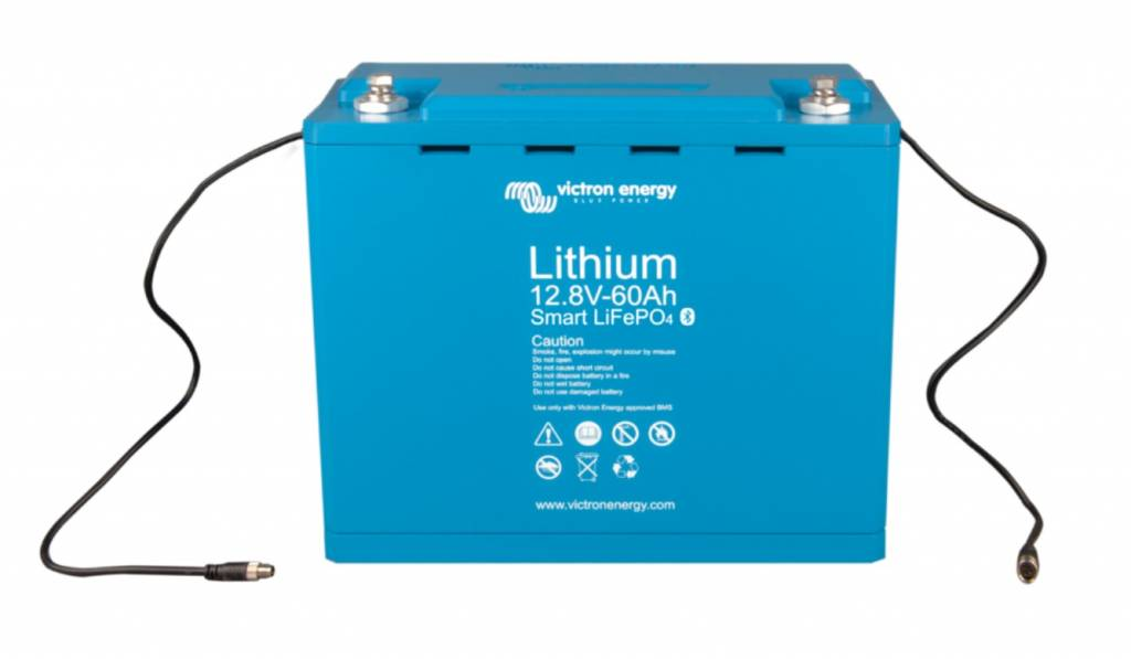 12,8 V/60Ah Lithium - Iron - Phosphate Batteries Smart with ...