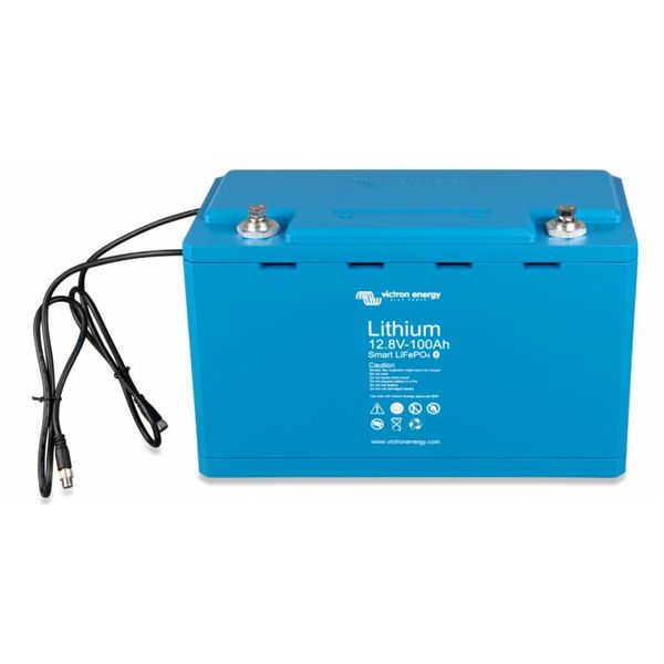 12,8 V/100Ah Lithium - Iron - Phosphate Batteries Smart with  Bluetooth
