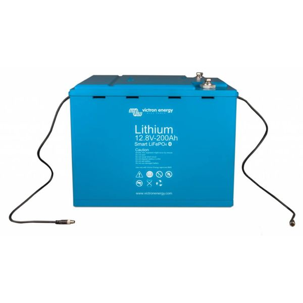 12,8 V/200Ah Lithium - Iron - Phosphate Batteries Smart with  Bluetooth