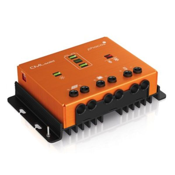CMLsolid 30A Four-Stage PWM Solar Charge Controller