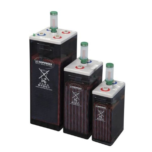 Sun Power VL 2 - 620 Series OPzS - Vented lead-acid battery for cyclic applications