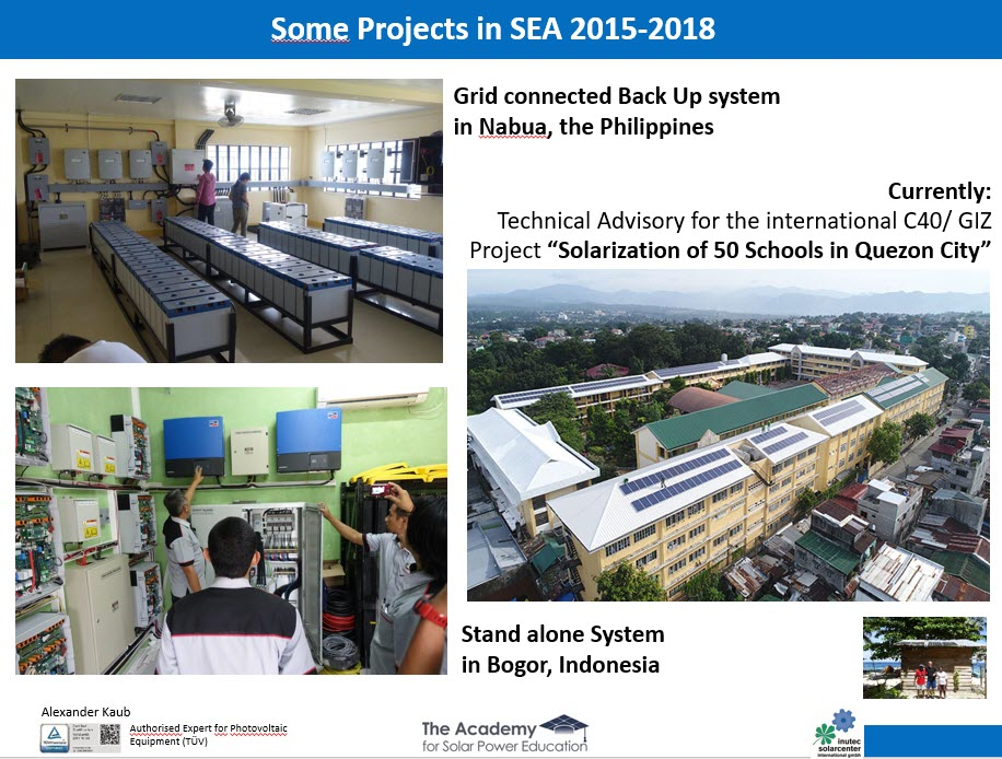 Some Philippine Projects
