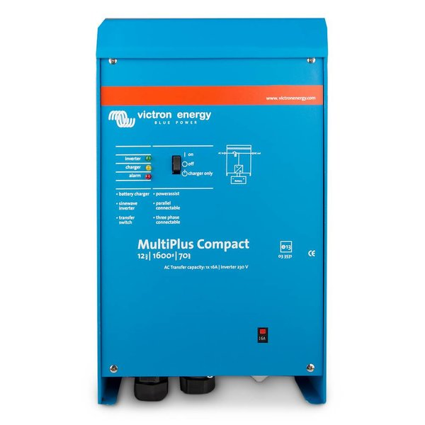 SPECIAL OFFER MultiPlus Compact 12/1600/70-16 230V - Inverter / Charger