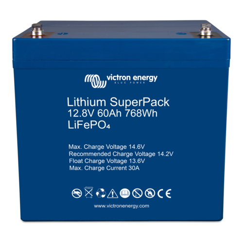 Victron Energy Victron Energy Lithium SuperPack 12,8V/60Ah