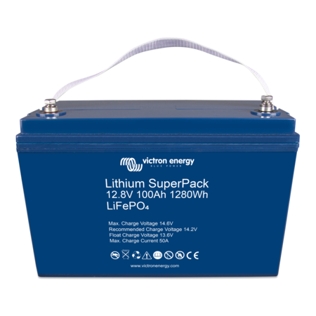 Victron Energy Victron Energy Lithium SuperPack 12,8V/100Ah