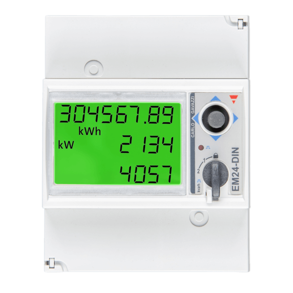 EM24 Energy Meter - Energiezähler 3 Phasen (max. 65A/Phase)- RS485-Verbindung