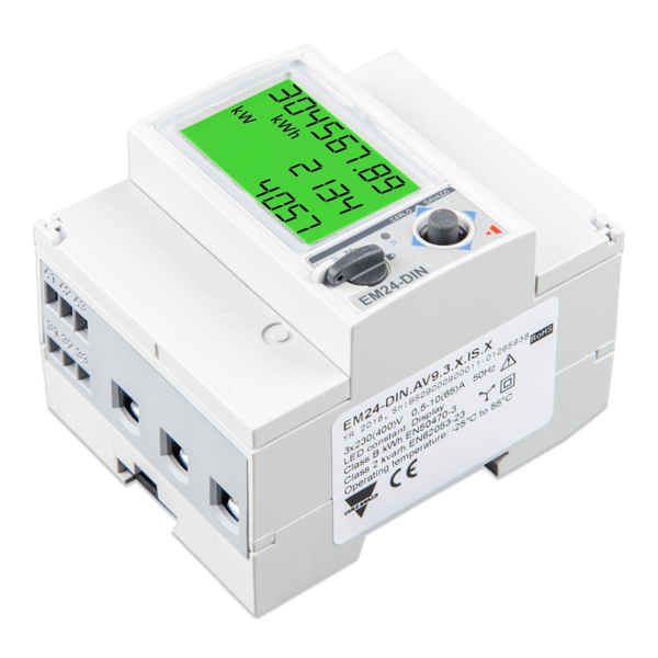 EM24 Energy Meter - 3 Phase (max. 65A/phase) - RS485-Connection