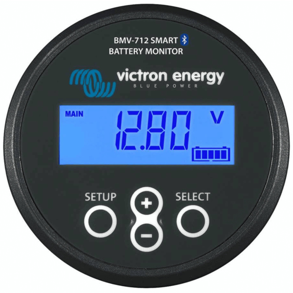 Battery Monitor BMV-712 BLACK Smart - with built-in Bluetooth