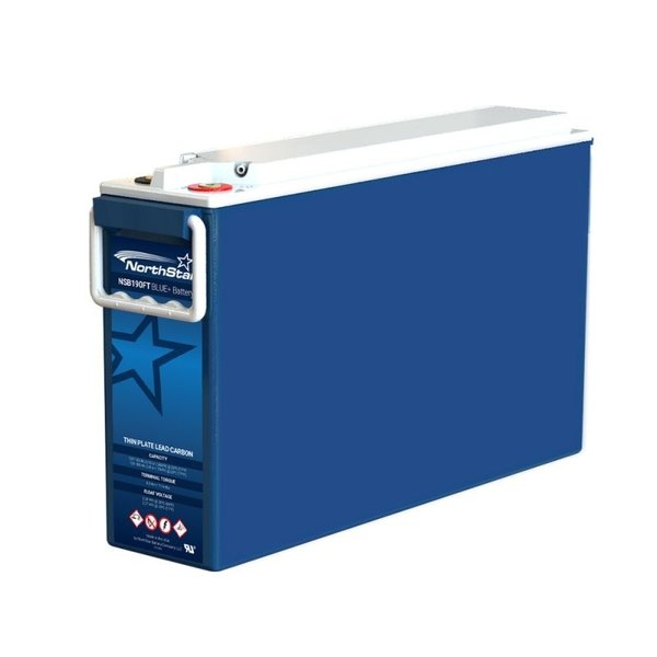 NorthStar NSB190FT BLUE+ VRLA AGM Pure Lead Carbon Battery 12V 183Ah