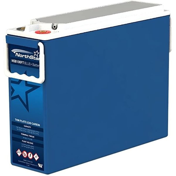 NorthStar NSB100FT BLUE+ VRLA AGM Pure Lead Carbon Battery 12V 100Ah