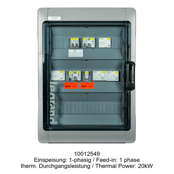 Switchover Box for SMA Sunny Island Battery Inverter