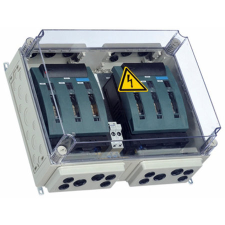 enwitec BatFuse B.03 - Battery Fuse Box with disconnector for three inverters