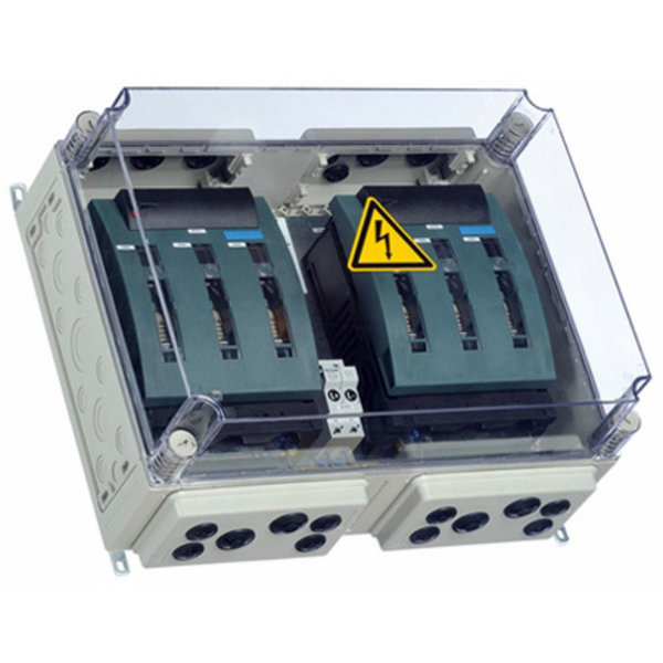 BatFuse B.03 - Battery Fuse Box with disconnector for three Inverters