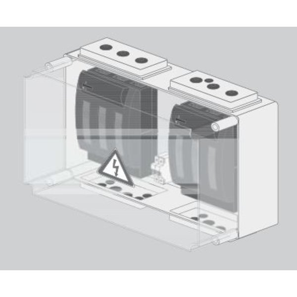 BatFuse B.01 - Battery Fuse Box with disconnector for three Inverters