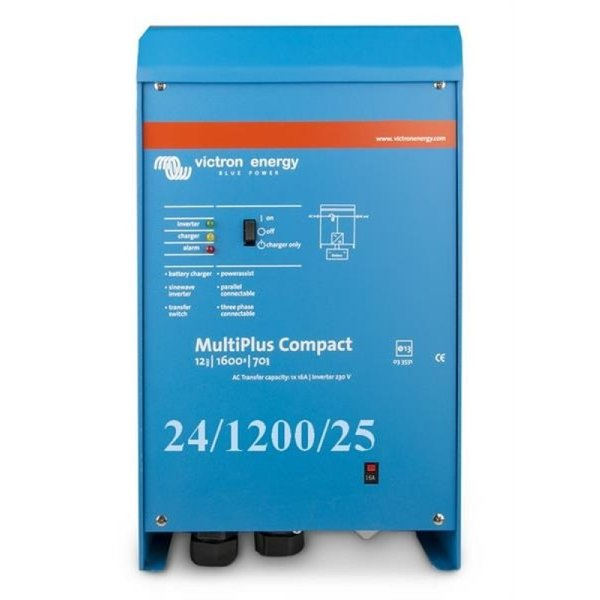 Victron Energy MultiPlus Compact 24/1200/25-16 230V VE.Bus Inverter/Charger