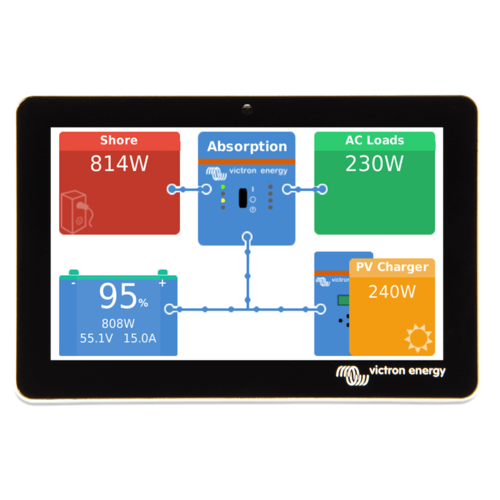 Victron Energy SPECIAL SALE: Victron Energy GX Touch 50 - Touchscreen Display for Cerbo GX