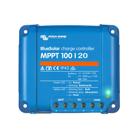 Victron Energy Victron Energy BlueSolar MPPT 100/20 48V - Solar Charge Controller