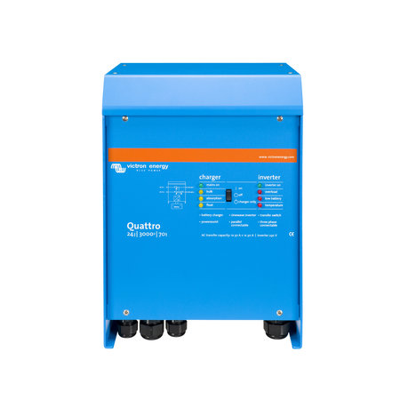 Victron Energy Victron Energy Quattro 24/3000/70-50/50 230V VE.Bus