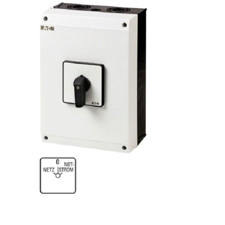 Eaton Electric Eaton Electric  T5-4-8902/I5 switch mains / emergency power (island operation)